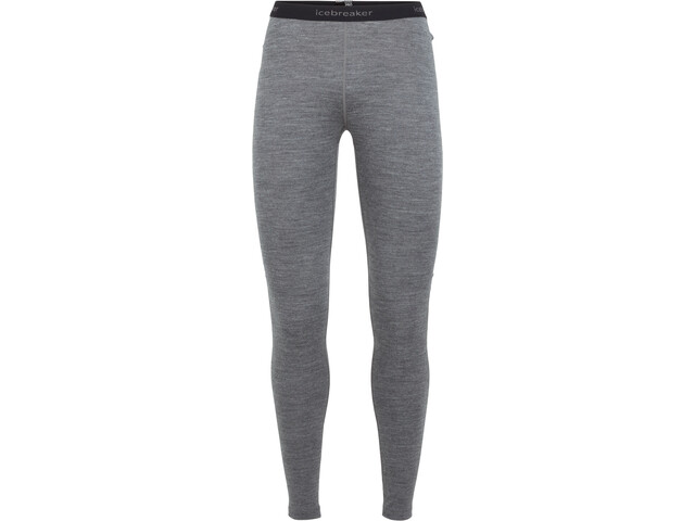 Icebreaker 260 Tech Leggings Donna, gritstone heather